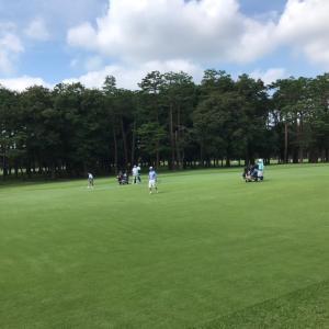 7/24 ラウンド44@東京ゴルフ倶楽部