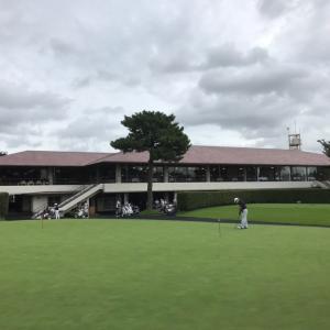 8/23  ラウンド52@我孫子ゴルフ俱楽部