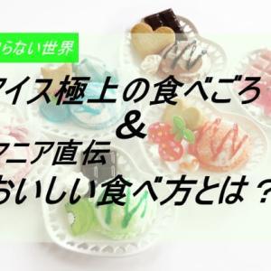 マツコの知らない世界|アイス極上の食べ頃&おいしい食べ方とは?2020年7月7日放送