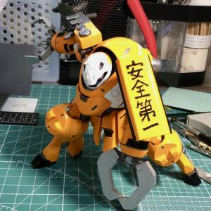 【オリジナル改造】HGIBO マンロディ作製記11【塗装6】