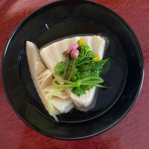 煮物椀 ごま豆腐