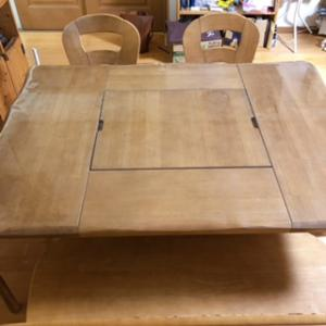 テーブルの更地化【after】