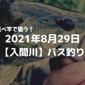 2021年8月29日入間川バス釣り釣行記録