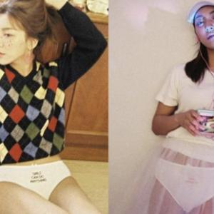 f(x)のLunaが大胆なファッションスタイルを公開!