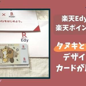 楽天Edy・楽天ポイントカードが届いた