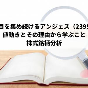 【注目を集め続けるアンジェス(2395)の値動きとその理由から学ぶこと】株式銘柄分析