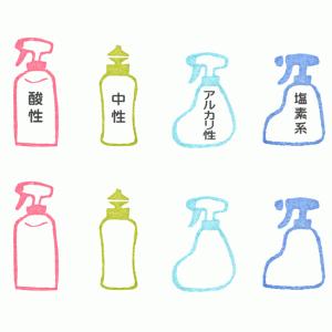 洗剤(ボトル・スプレー)イラスト