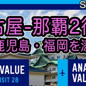 [SFC修行]名古屋発着日帰りオススメ旅程 単価4円台で11,000PP超(PP2倍)