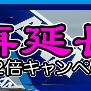 [延長決定!]ANA国内線プレミアムポイント2倍キャンペーン