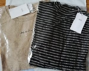 バロックジャパンリミテッドの優待券で買った服が届きました