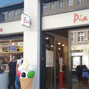 デュッセルで一番のアイス屋さん