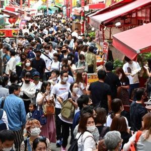秋の4連休 観光地に人出が戻る 姫路城は一時間待ち