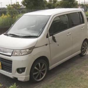 覚醒剤取締法違反で家宅捜索を受けていた男が隙をついて逃走。当て逃げ事件を起こして車を乗り捨て、更に逃走中。埼玉県