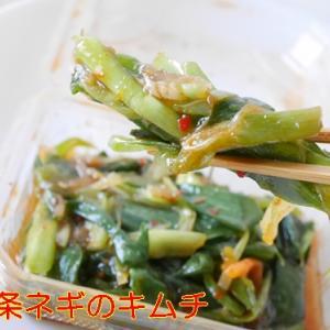 発酵食品大好き【九条葱のキムチ(くじょうねぎのきむち)】食べてみました