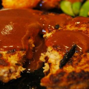 【レシピ・カロリー付き】豆腐ハンバーグ・もやしの中華サラダ・味噌汁【今日の献立30】