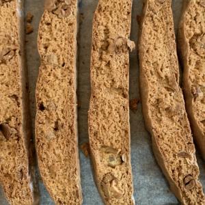 【作り方】大豆ときな粉のビスコッティ【カロリー付き】