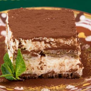 【カロリー】ティラミスアイスケーキ【レシピ付き】
