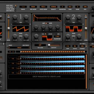 Audiaire Zone 〜 無限にシーケンサーを追加可能なパワフルなシンセ
