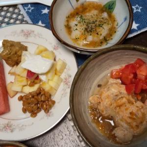 サニーちゃんの手作り朝ごはんと夜ご飯6/12,13