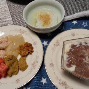サニーちゃんの手作り朝ごはん、夜ごはん8/4〜