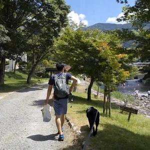 出発!琵琶湖を目指すサニーちゃん