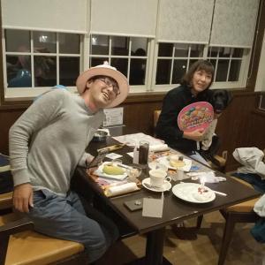 ホテル旬香大山さんでお祝いしてもらうサニーちゃん
