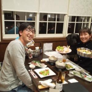 旬香大山リゾートさんでご飯のサニーちゃん