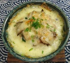 ❥鶏と舞茸の和風グラタン(ロカボなホワイトソース)~長芋~
