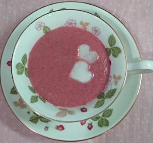 ❥ラブリ~スープ(カブ&ビーツのスープ) ~ビート♡