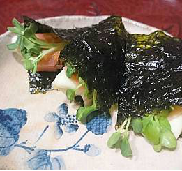 ❥巻き巻きモッツァレラチーズ~海苔~