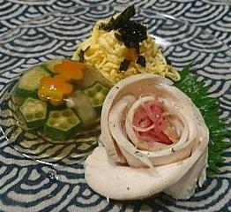 ❥ロカボランチでつけ麺 (麺つゆ)~ところてん~