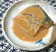 ❥鯖の胡麻煮~サバ~