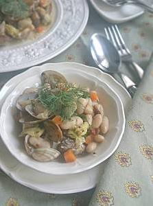 ❥あさりと豆と野菜のウマウマ煮~グルタミン酸(うま味成分)~