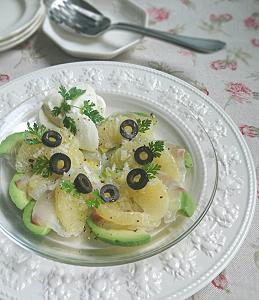 ❥真鯛とグレープフルーツのカルパッチョ~セルフィーユ(チャービル)~