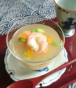 ❥冷やし冬瓜すり流し~和食は無形文化遺産~
