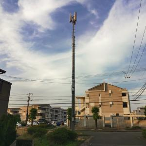 続々・Rakuten UNLIMITの無線基地局が近くにできました☆3度目の工事が・・・