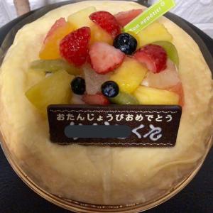 バースデーケーキもシャトレーゼ(´ω`*)2日前までの予約&支払いでちょっとしたプレゼントも☆