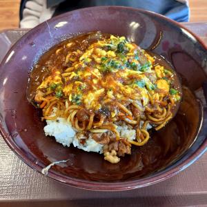 炭水化物祭り☆やきそば牛丼オムカレーMIXを食べに行ってきました(´ω`*)すき家