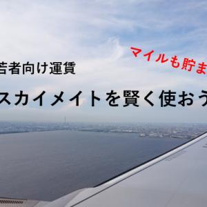 【学割】JAL vs ANA スカイメイトを賢く使おうマイルも貯まる