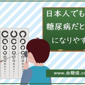 日本人でもやはり糖尿病患者は緑内障になりやすいようです