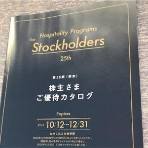 イデアインターナショナル(3140)より株主優待品カタログ到着、申し込み