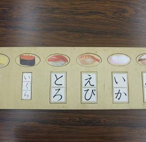 キャラクター填め板に文字をつける方法