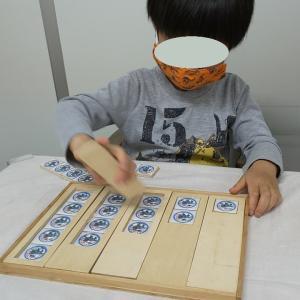 色の分類・大きさ比べ・長さ比べに子どもの好きな物を使えば意欲・集中・着席も増加する