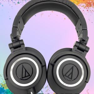 【audio-technica ATH-M50x レビュー】アマゾンレビュー1万2千越え☆4.5のモニターヘッドホンはゲーム用途で使えるのか!
