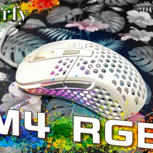 【Xtrfy M4 RGB レビュー】エルゴノミクスデザイン軽量マウスの新基準!