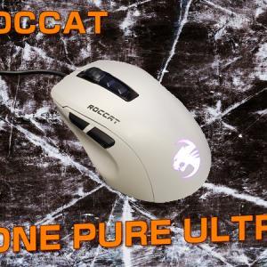 【ROCCAT KONE PURE ULTRA レビュー】ROCCATが贈る傑作軽量マウス!!