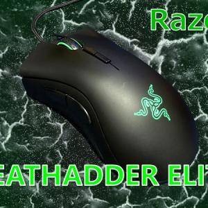 【Razer DeathAdder Elite レビュー】大型のエルゴノミクスデザインゲーミングマウス