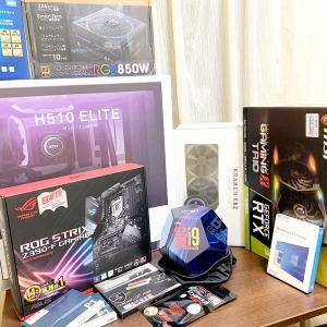 i9-9900K&RTX2080tiで最強PC組んでみた~企画編~