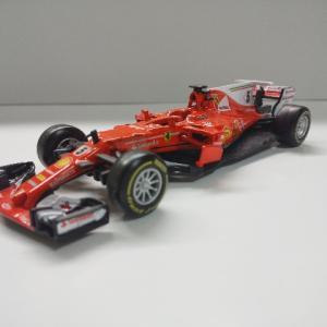 ミニカー紹介 Scuderia Ferrari SF70H Sebastian Vettel