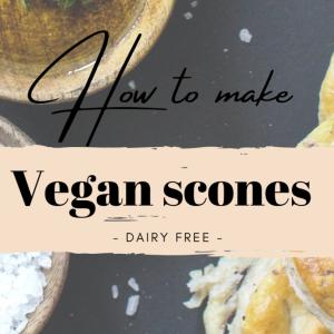 How to make Vegan scones - ヴィーガンスコーンの作り方